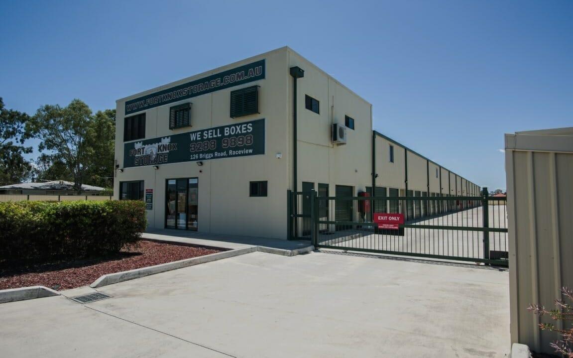 Fort Knox Storage Ipswich facility
