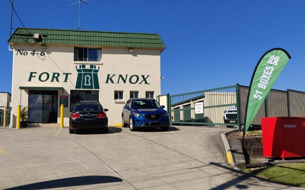 Fort Knox Storage Burleigh Heads facility