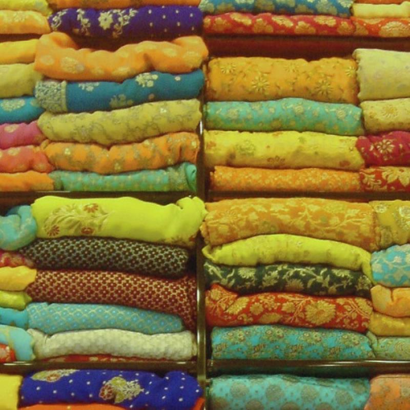 Folded clothing stack